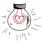 PHOTO-Lightbulb Heart Dreamstime Purchase